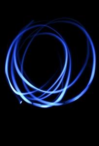 blå cirklar liten