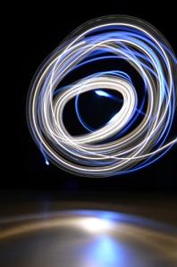 blåvitt cirkel liten