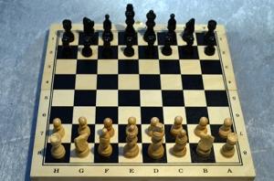 Diffuserad reflektion schackbräde