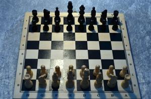 Direkt reflektion schackbräde