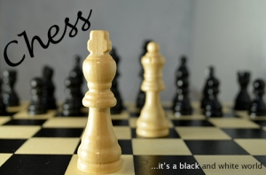 schack mjukt ljus